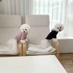 [T.라떼기모후드티셔츠]Latte napping hood T_Brown