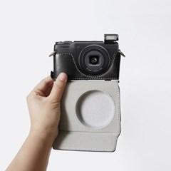 리코 Ricoh GR2 GR3 카메라 케이스 넥스트랩 가방 파우치 블랙