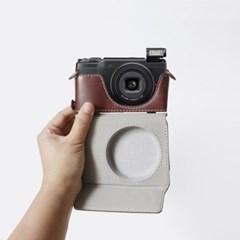 리코 Ricoh GR2 GR3 카메라 케이스 넥스트랩 가방 파우치 초코
