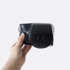 소니 Sony a6400 카메라 케이스 가방 파우치 배터리분리가능 블랙