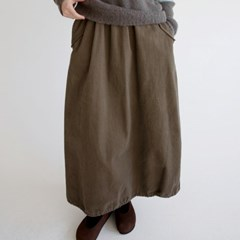 pudding cotton skirts (3colors)_(1408948)
