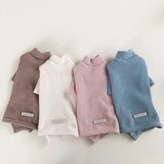 [A.플레인니트티셔츠]Plain knit AIO_4color
