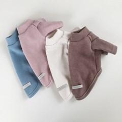 [T.플레인니트티셔츠]Plain knit T_4color