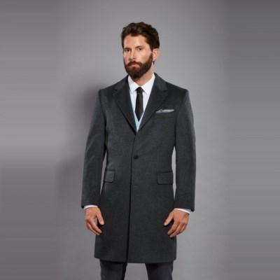 [GOBI]고비 캐시미어 남성 코트 / 체스터코트 (캐시미어 100%)