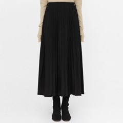 voll suede pleats long skirts_(1409504)