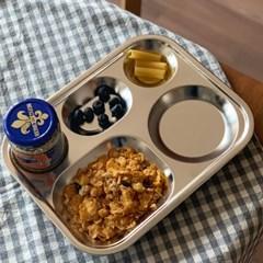 소소모소 소소 스텐 간편 식판