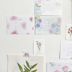 elnovamas botanic mood 2020 calendar