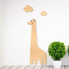 [우드스티커] 기린과구름 (반제품) W545H