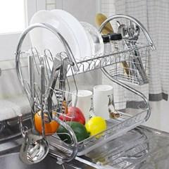 스텐레스 설거지 식기건조대