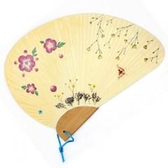 [누름꽃공예]-꽃바람부채만들기