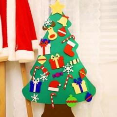 크리스마스 펠트 벽트리 만들기세트 (루돌프)_(301772682)