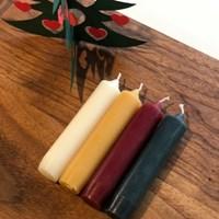 크리스마스 미니캔들 4 colors