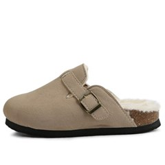 kami et muse Comfort daily suede fur slippers_KM19w210