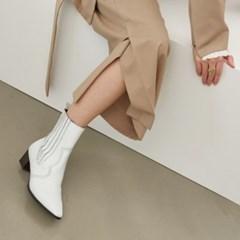 [메이엘듀] Western Boots MD19FW1049 White