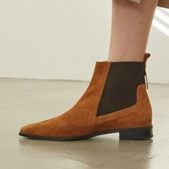 [메이엘듀] Point Chelsea boots MD19FW1044 Camel