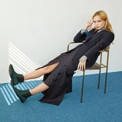[메이엘듀] Point Chelsea boots MD19FW1044 Green