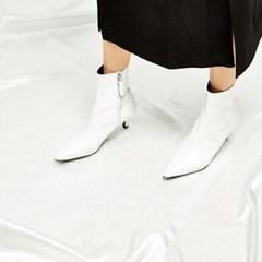 [메이엘듀]Classic Ankle Boots - MD18FW1020 White