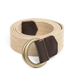 CHAMUDE D-RING BELT (cream)