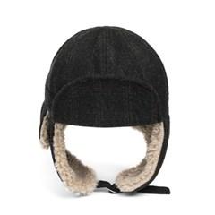 CH WOOL TRAPPER HAT (dark grey)