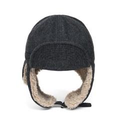 HBT WOOL TRAPPER HAT (grey)