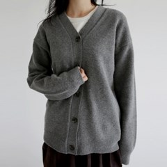 cashmere v neck cardigan (2colors)_(1411284)
