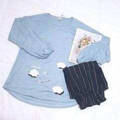 올두잇 클라우드 수면 잠옷세트