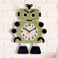 [나룸] WMC-150 로봇 벽시계(무소음)_(1070178)