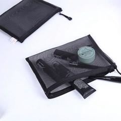 아파트32(APT32) 메이크업 파우치/ 메쉬 화장품 파우치