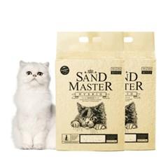 샌드마스터 하이브리드 2.8kg x 2개 벤토 고양이모래
