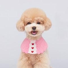 뽀글케이프 / 핑크