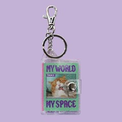 MINI NOTE KEY HOLDER_MY WORLD