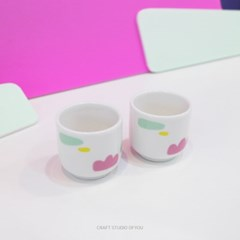 colour glass (1set-2p)