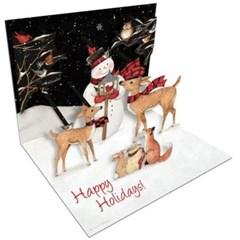 크리스마스 팝업카드-sam's snow