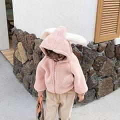 돌핀웨일 애니후디 양털점퍼(80~120cm)