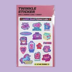 TWINKLE STICKER_VER.1
