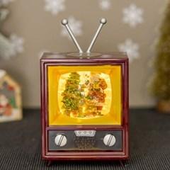 LED 크리스마스 캐럴 워터볼 TV [산타클로스]_(11914743)