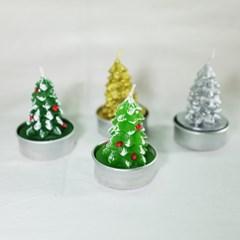 플리징 크리스마스 트리 양초