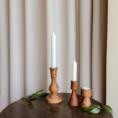 우드촛대 3type , 캔들 홀더 촛대 골드 인테리어소품