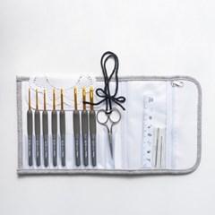 [Crochet 부자재] 미스티코티타 코바늘세트 - 튤립에티_(2827458)