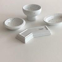 [폴라앳홈] 얼반 작은 그릇 4종 세트