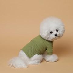 [mungmoong] 풀오버 스웨터 그린