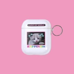 AIRPODS CASE_CLEAR_KITTY