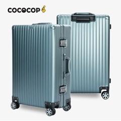코코캅 델라2 26인치 수화물 블루 알루미늄 100% 여행용 캐리어