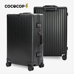 코코캅 델라2 20인치 기내용 블랙 알루미늄 100% 여행용 캐리어