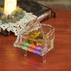 클리어 피아노 LED 오르골_(1821456)