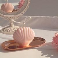 로맨틱 조개 필라캔들 (인테리어 디자인 캔들)
