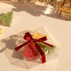 크리스마스 눈꽃 오종종 티라이트 4구 선물세트