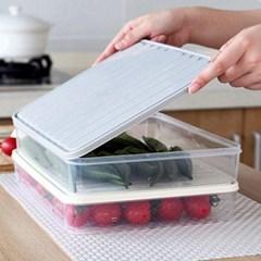 아파트32(APT32) 컬러뚜껑 와이드용기/ 냉장고 정리용기 수납용기