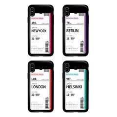 아이폰11Pro TCB-에어플레인티켓 카드 범퍼 케이스_(2521698)