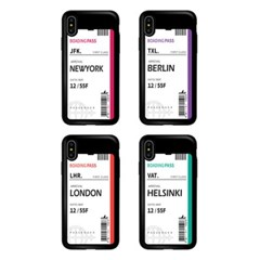 아이폰7플러스 TCB-에어플레인티켓 카드 범퍼 케이스_(2521608)